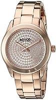 SO & CO New York Madison 5067.3 - Reloj de pulsera Cuarzo Mujer correa deAcero inoxidable Oro Rosa de SO&CO New York