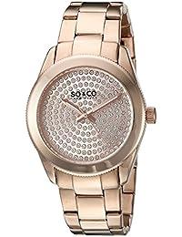 SO & CO New York Madison 5067.3 - Reloj de pulsera Cuarzo Mujer correa deAcero inoxidable Oro Rosa