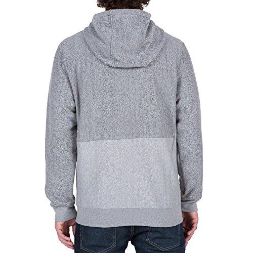 Volcom Herren Pulli Static Stn Line Zip Grey