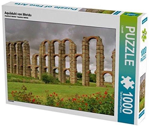 Preisvergleich Produktbild Aquädukt von Mérida 1000 Teile Puzzle quer: Extremadura (CALVENDO Orte)