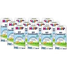 Hipp Orgánico Pre Combiotik Listo, conjunto de 12 (12 x 200 ml) - Bio