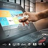 """Sportstech F75 High-End Laufband mit Großer Lauffläche 580x1600mm, Android 15,6"""" Display, Wifi, USB, 18% Steigung mit Dämpfungssystem bis 200Kg – Robust und klappbar - 4"""