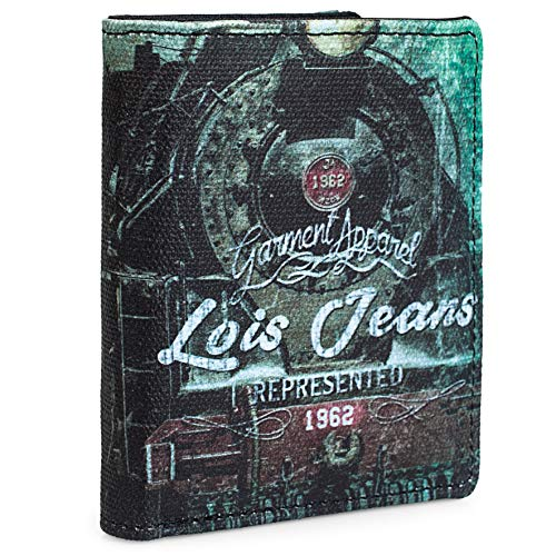 Lois - Cartera Joven Chico. Monedero Billetero Lona