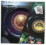 Black Jack und Roulette Box Set-Großes Rad, volle Breite Chips-Tolles Set