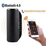 Musikbox bluetooth Lautsprecher Tragbarer Outdoor Bluetooth Stereo Lautsprecher mit Freisprecheinrichtung/MicroSD/TF/Line in/Kopfhörerbuchse
