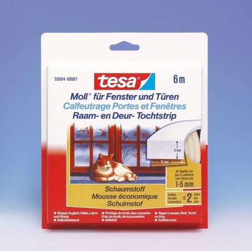 TESA Tesamoll 6m55604ws15br6st
