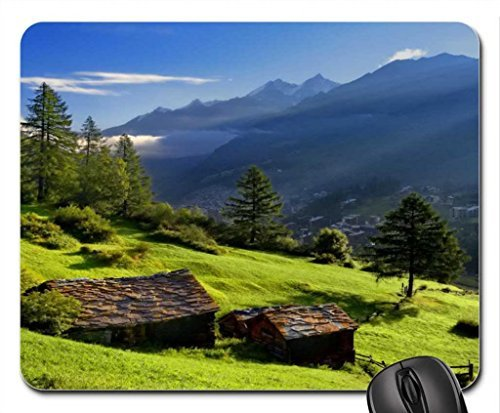 Preisvergleich Produktbild Klein Mountain Ferienhäuser Mauspad,  Mousepad (Gebirge Maus Pad)
