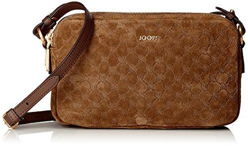 JOOP - Velluto Stampa Leandra Shoulderbag Shz, Borsa a spalla Donna Marrone (marrone scuro)