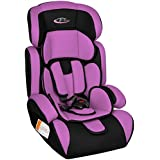 TecTake Group 1/2/3 Combination Car Seat (Purple / Black)