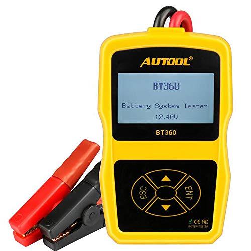 Autool Bt36012V Auto testeur de Batterie de Voiture testeur de Batterie BT 360