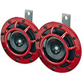 Hella Grill Super Loud Tone Horn (Red)