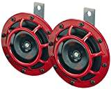 #10: Hella Grill Super Loud Tone Horn (Red)