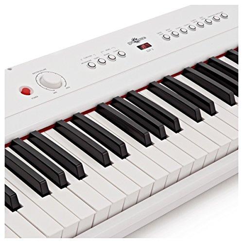 SDP-2 Stage-Piano von Gear4music + Komplettset weiß - 3