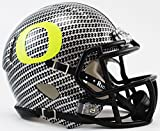 NCAA Oregon Ducks Carbon Fiber HydroFX Speed Mini Helmet by Riddell