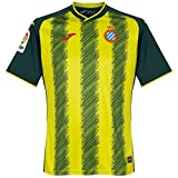 Joma RCD Espanyol Tercera Equipación 2017-2018, Camiseta, Verde-Amarillo, Talla M