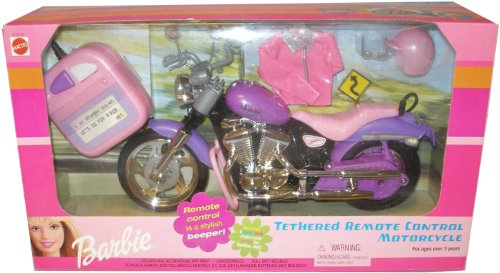 Barbie Purple Tethered Remote Control Motorcycle Price