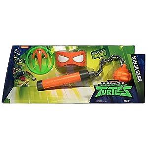 Giochi Preziosi Teenage Mutant Ninja Turtles TUAB43 Juego de rol - Juegos de rol (Superheroes, Estuche de Juego, 4 año(s), Niño, Niño, Gris, Rojo)