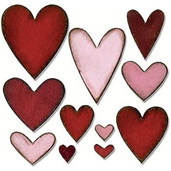 Sizzix Framelits 660233 Fustella Bigz Die Heartfelt