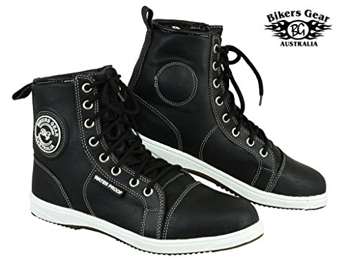 australian-bikers-gear-retro-black-waterproof-motorcycle-casual-sneaker-leather-trainers-boots