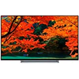Toshiba 43U5766DB 43-Inch 4K Ultra HD Smart LED TV with Freeview Play - Black TV with a chrome surround