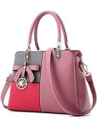 Donne borsette Bow-Knot decorazione casual donna Borse in pelle borsetta  designer qualità Lady borse e4b684f0070