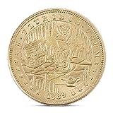 Exing Sammlermünzen Münze, Imitation Alte Goldmünzen Gedenkmünze Antike Nachahmung Handwerk Home Decor