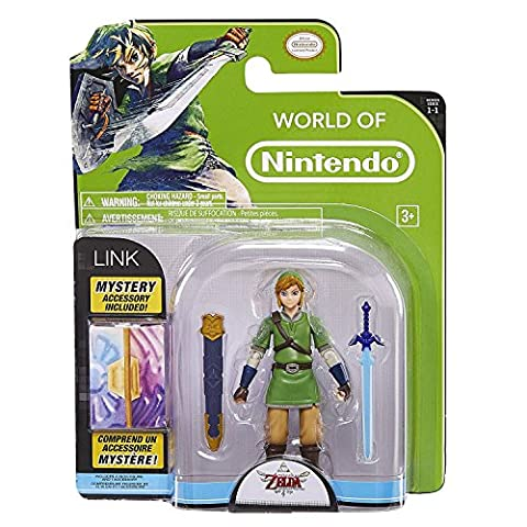 Nintendo 4-inch Figures Link with Accessory