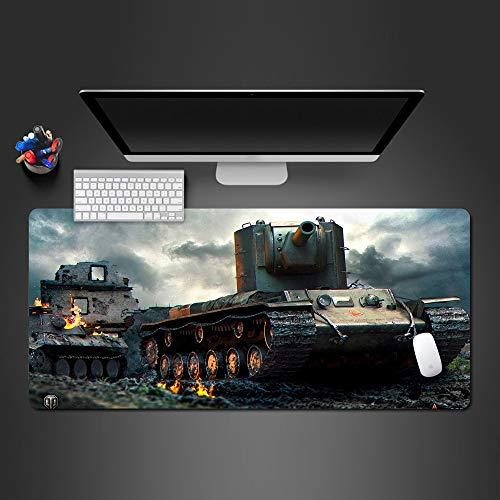 Mauspad Coole World Of Tanks Mauspad Halloween Geschenk Mauspads Mauspad Gaming Mouse Pad Gamer Große Personalisierte Tastatur Mause Pad Zum Spiel ()
