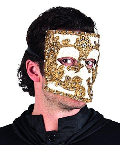 Kostüm Bauta Maske (Boland 00284 - Maske Venice)