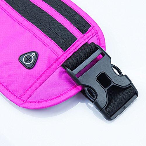 FZHLY Laufsport Taschen Männer Und Frauen Ultradünne Multifunktions-Handy-Beutel SportPurple