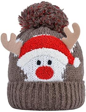Cappello di Natale, Fascia Ragazza Bambini Cappello di Natale Carino Babbo Natale Horn Capriccio Kids Winter Cappello...