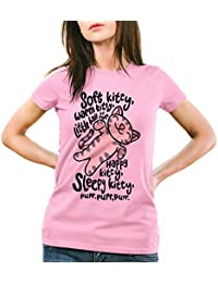 style3 Soft Kitty T-Shirt Femme penny