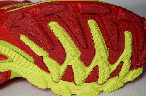 Damen Sportschuhe, sehr leicht und bequem, rot-gelb, Gr. 36-41 Rot-Gelb