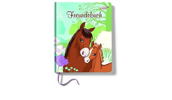 Nici 40587 Freundebuch Pferde Soulmates 15x18 cm