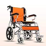 Rollstuhl Faltrollstuhl Sitzbreite 45 cm faltbar leicht, Leichtgewicht mit Steckachsensystem Belastbarkeit 180 kg PU Bereifung
