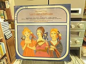 Offenbach les contes d'hoffmann - Geori Boué - Vina Bovy - renée Doria - Fanély Revoil orchestre opéra comique dir. André Cluytens - Trianon C 045-12010