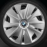 BMW Winterkompletträder (4er Set) Stahlrad 12 schwarz 16 Zoll 2er F45 RDCi (ohne Radkappen)