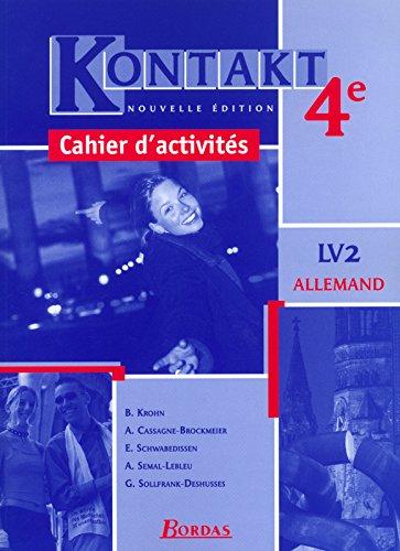 Kontakt : Allemand, 4e LV2 (Cahier)