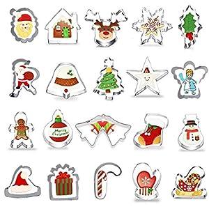 20 Piezas Navidad Cortadores de