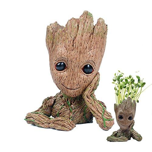Fashion Guardians Of The Galaxy Blumentopf Baby Groot Action Figuren Cute Modell Toy Stiftehalter Best Christmas Geschenke für Kinder