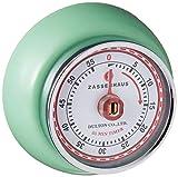 Zassenhaus 0000072365 Timer Speed, Edelstahl, grün, 7 x 7 x 3 cm
