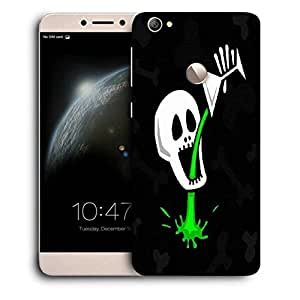 Snoogg skull drinking poison 2787 Designer Protective Back Case Cover For LETV 1S / Le-ECO 1S