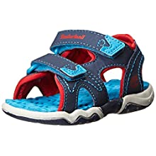 Timberland Toddlers Sandal, Navy / Blue / Red, 1.5 UK (34 EU)