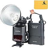 Godox Flash Speedlite Portable AD360II-C HSS 1/8000S TTL 360W GN80 2,4G Sans Fil Avec PB960 4500mAh Lithium PowerPack Noir Pour Caméras Canon EOS DSLR