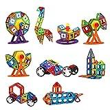 HUAXING Blocchi di Costruzione magnetici Set, Magnetico Costruzione Giocattoli Set, educativo Costruzione accatastamento Regalo per età 3 4 5 6 7 Anni