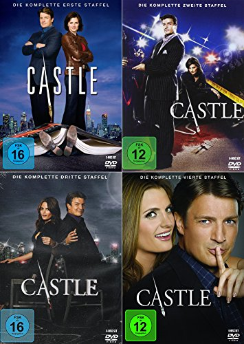 Staffel 1-4 (21 DVDs)