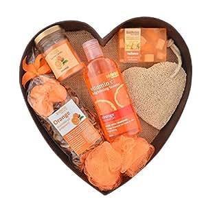Bodyherbals Orange Surprise Bathing Set