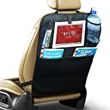 PrimeFolksCo. High Quality Car Seat Back Protector Covers with iPad / Tablet Holder - Kick Mat - Auto Organiser (2)