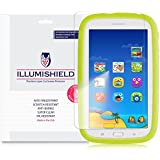 Samsung Galaxy Tab E Kids Screen Protector [2-Pack], iLLumiShield - Japanese Ultra Clear HD Film with Anti-Bubble and Anti-Fingerprint - High Quality Invisible Shield - Lifetime Warranty