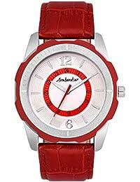 Armbandsur Analog Red Watch-ABS0029MRW